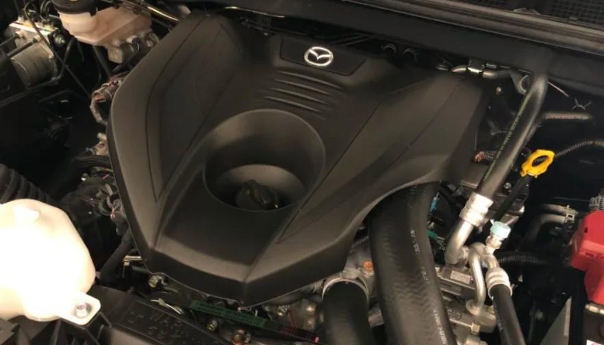 2021 Mazda BT-50 Engine