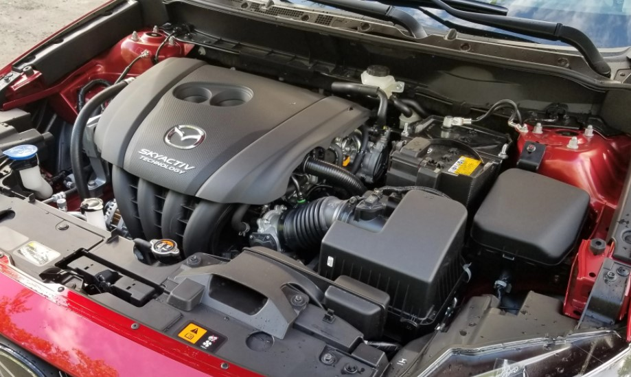 2021 Mazda CX 3 Engine