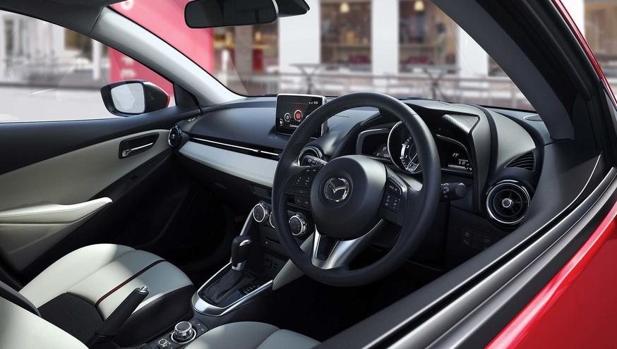 2021 Mazda 2 Interior