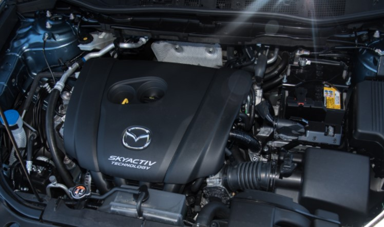 2023 Mazda CX 5 Engine
